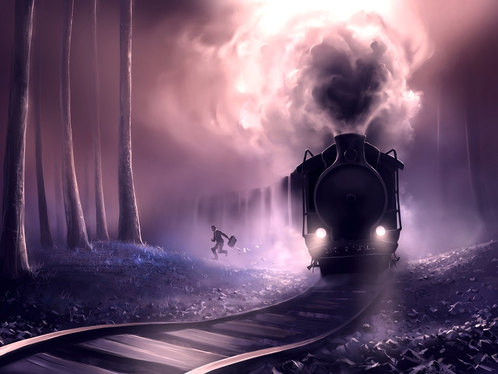 train_ombré